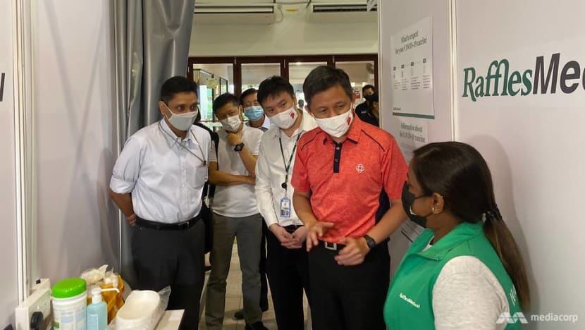 Govt targeting one community vaccination centre in every town by end-March: Chan Chun Sing