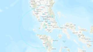 菲律宾马尼拉以南发生5.7地震