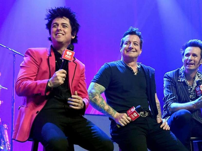 Green Day cancels concert in Singapore due to COVID-19