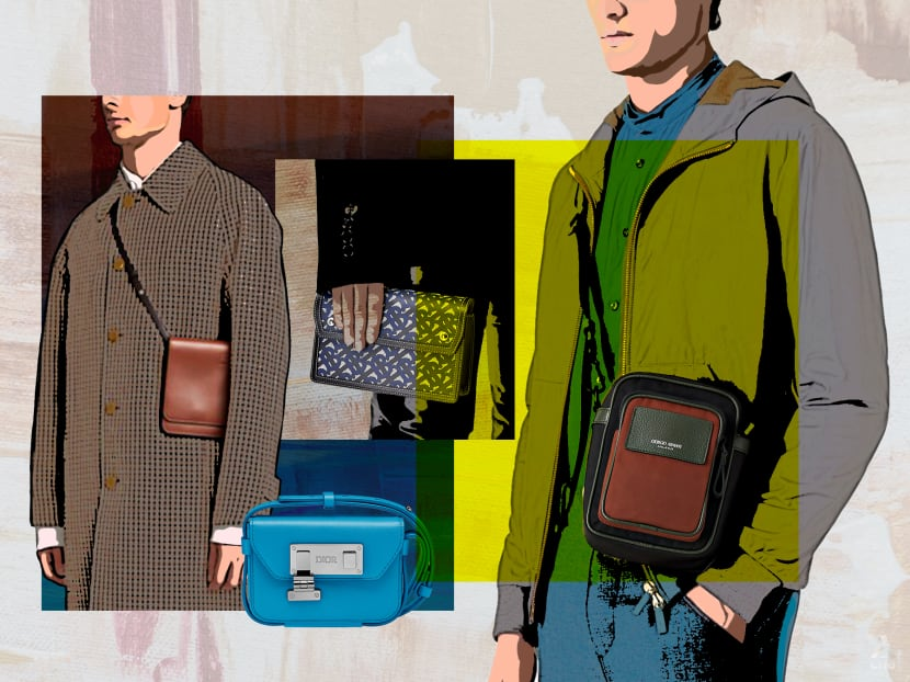 Ditch your briefcases and backpacks: Crossbody bags are the way to go