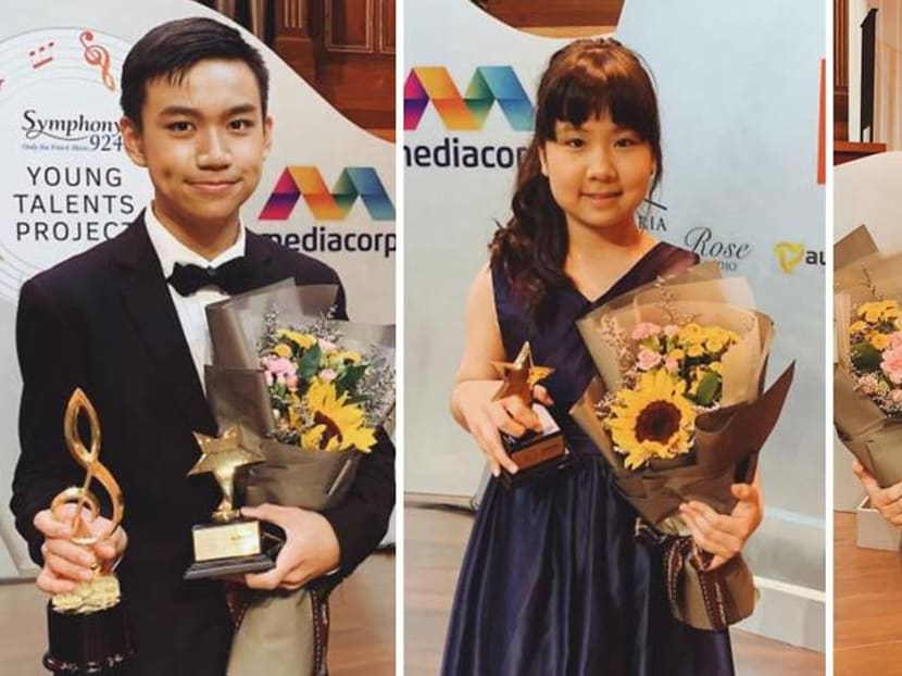 Young Singapore talents recognised at Symphony 924's classical music contest