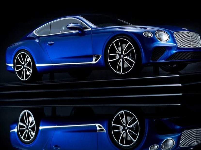 You can now dress up your home office with a miniature Bentley Continental GT