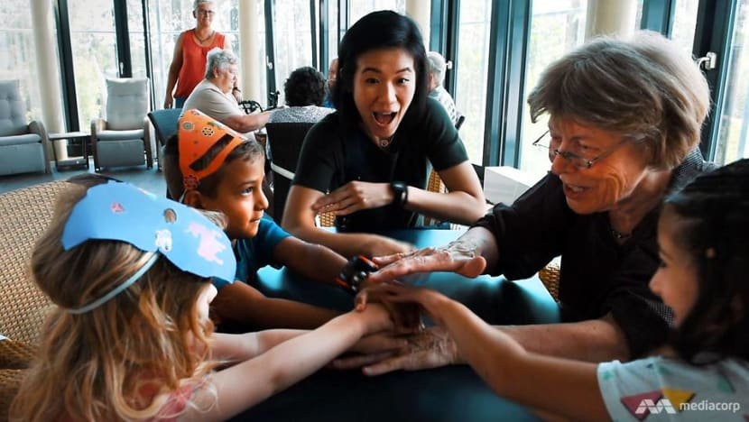 'It's like I'm part of life again': The magic when seniors and kids do daycare together