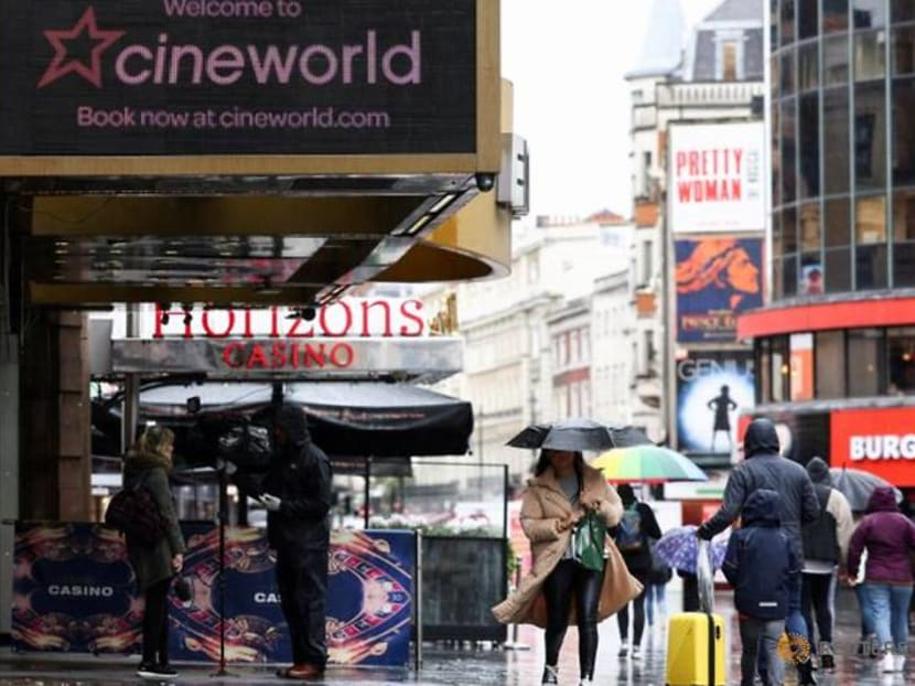 UK's Cineworld buys time to survive theatre closures