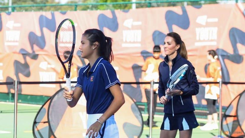 British royal Kate meets new queen of tennis Raducanu