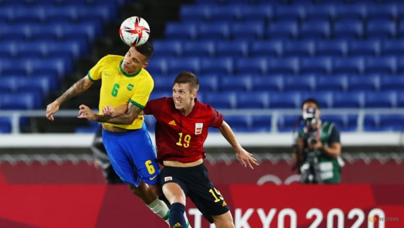 Football: Brazil beat Spain 2-1 after extra time to win gold medal