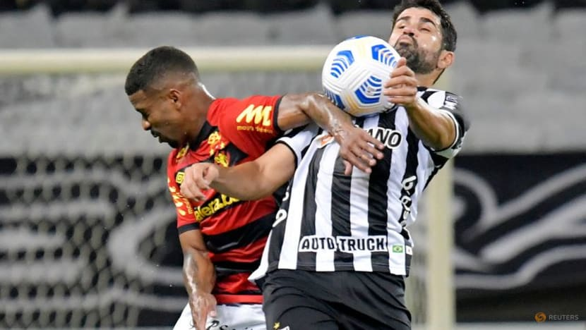 Football: Atletico Mineiro win again to stay top in Brazil