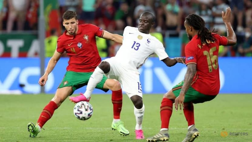 Football: France top group, Portugal squeeze into last 16 after 2-2 draw