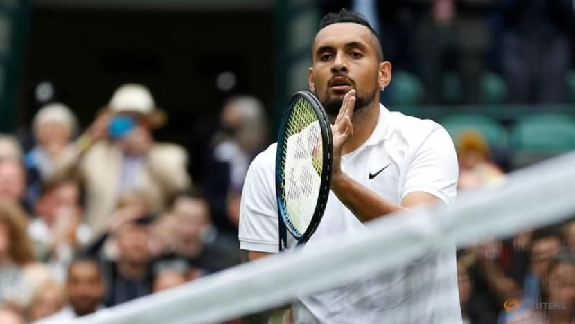 Mercurial Kyrgios happy to be 'relatable' entertainer than tennis god