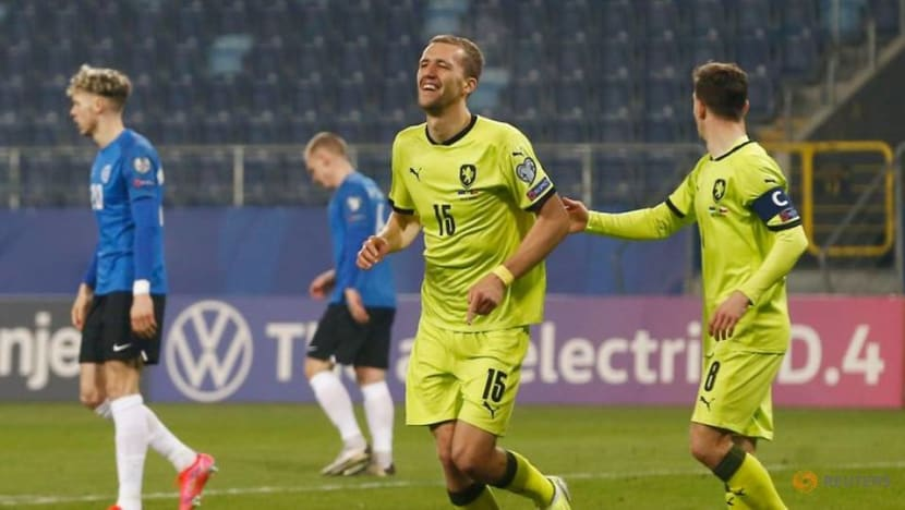 Football: Soucek leads Czechs past Estonia 6-2 to start World Cup campaign
