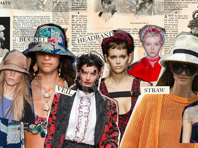 A head for fashion: Headbands, caps, straw designs and oversized hats rule