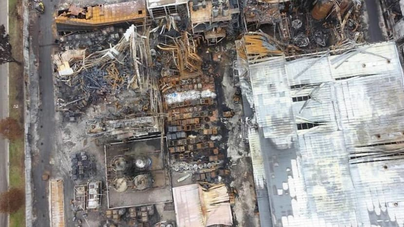ECO Special Waste Management fined for 'unsafe work practices' that caused Tuas plant fire