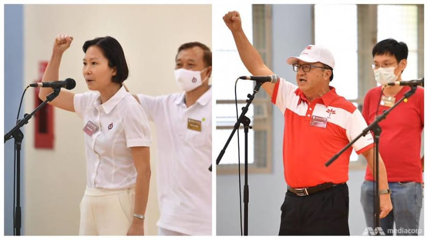 GE2020: New Marymount SMC sees contest between PAP's Gan Siow Huang and PSP's Ang Yong Guan