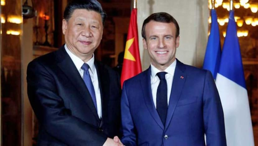 Xi meets Macron as French president seeks united EU front on China
