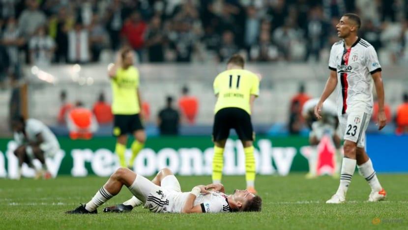 Football: Bellingham shines as Dortmund edge Besiktas