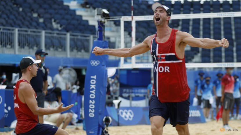 Beach volleyball: Norway's Mol and Sorum wins men's gold at Tokyo Games