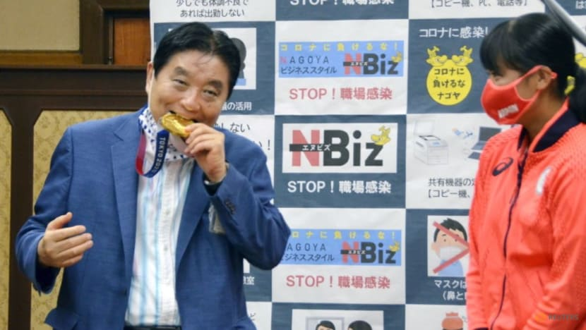 Olympics: Japan athlete to get nibbled gold medal replaced