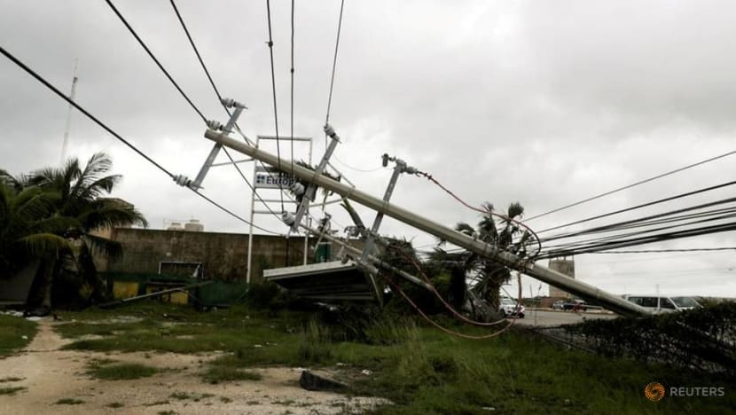 Hurricane Delta steams across Gulf of Mexico, halting 80% of oil output
