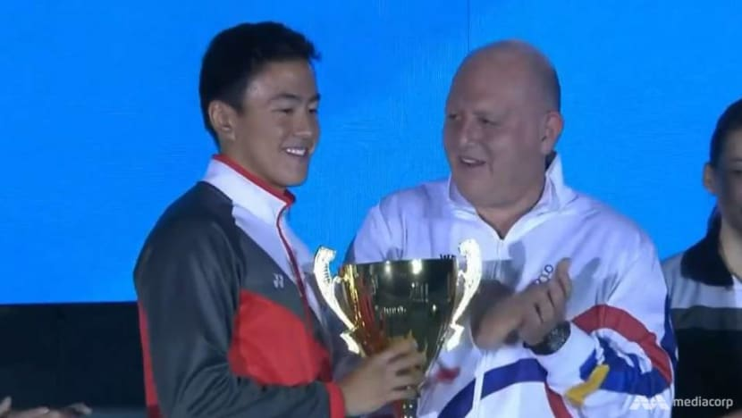 Singapore's swimmer Quah Zheng Wen is most valuable male athlete of SEA Games 2019