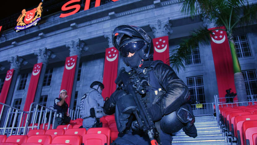 SPF showcases counter-terrorism capabilities in lead up to NDP 2019