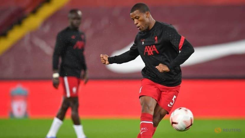 'Nothing concrete' in Barca talk, says Liverpool's Wijnaldum