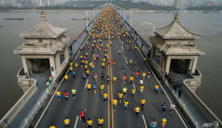 Wuhan Marathon postponed after COVID-19 surge in China