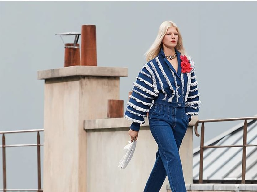 It's all in the jeans: From faded to flares, how denim is dominating fashion