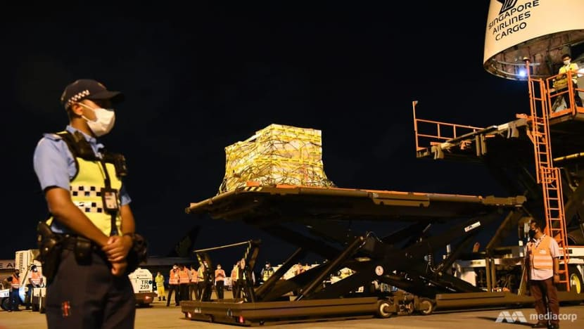 How COVID-19 vaccines are transported to Singapore and stored here