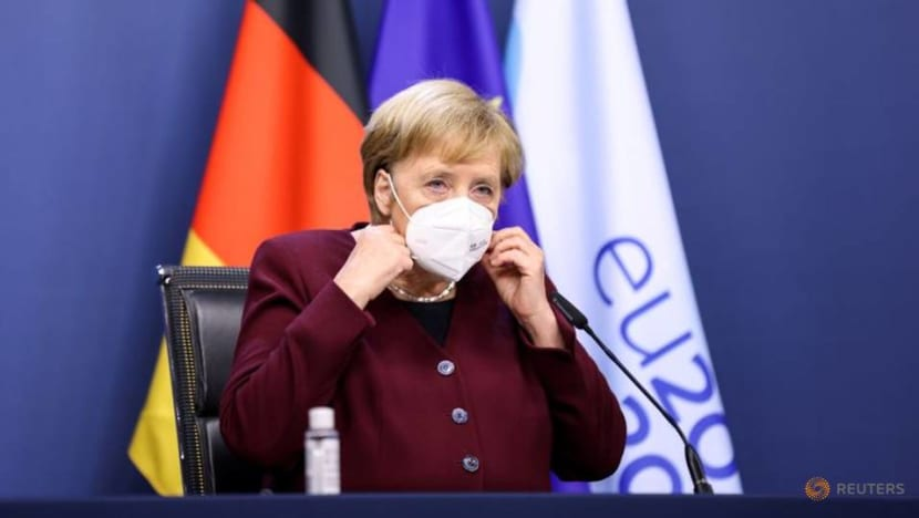 Merkel urges Germans to reduce contacts, travel to curb COVID-19