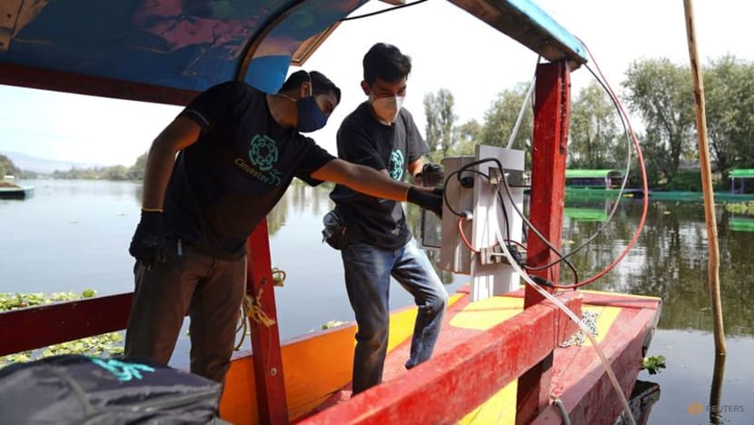 Mexico City taps solar energy to clean up historic Aztec-era canals