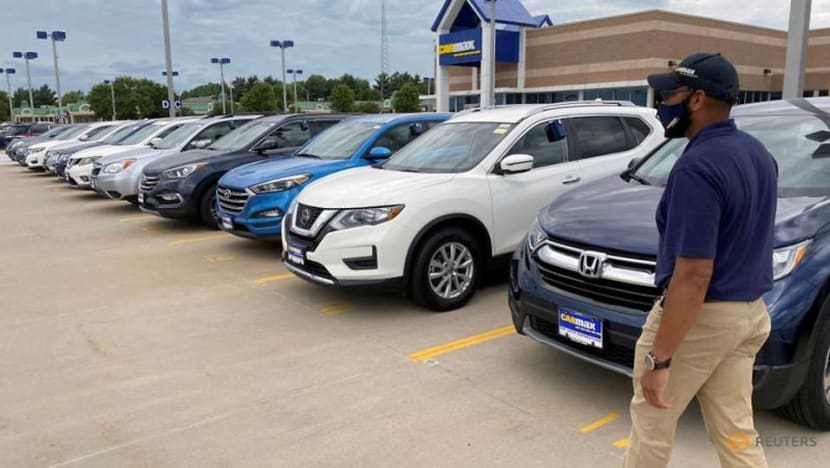 Used vehicles lift US consumer prices, but inflation slowing