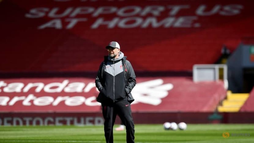 Soccer-Liverpool's Klopp says teams will find it harder to stop Man City