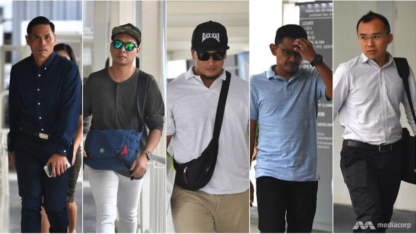 SCDF NSF death: 5 officers charged over ragging incident