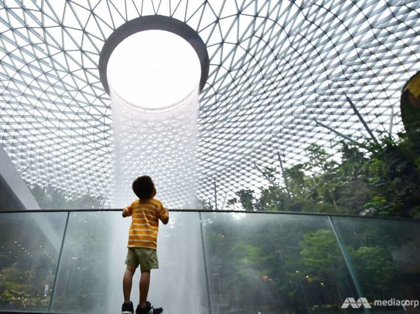 In pictures: First look inside Jewel Changi Airport