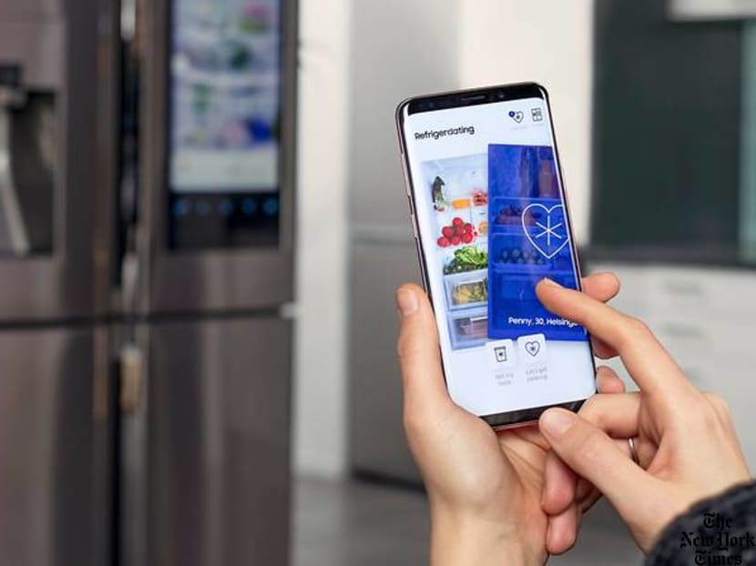 Can your refrigerator improve your dating life? There's even an app for it