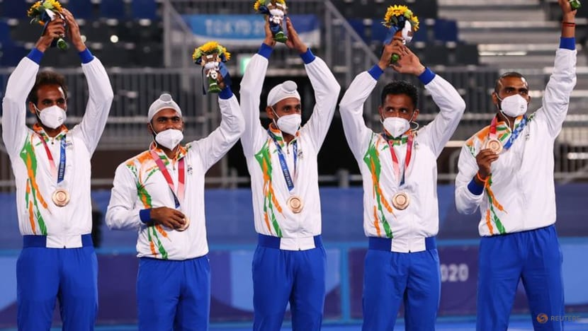 Olympics-Hockey-India savour men's 'golden bronze', hope to dominate sport again