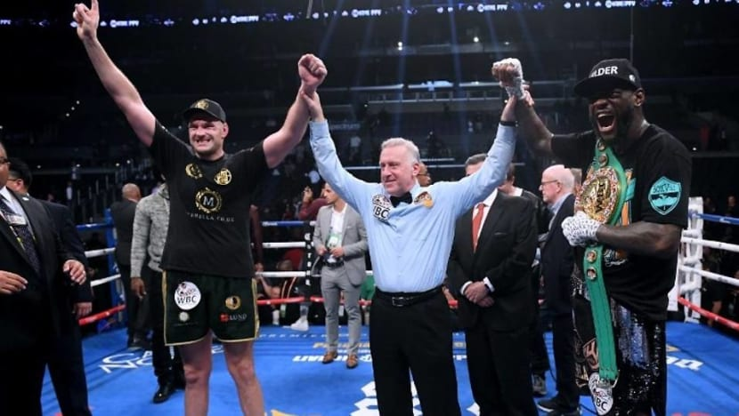 Boxing: Wilder retains heavyweight crown after Fury thriller ends in draw
