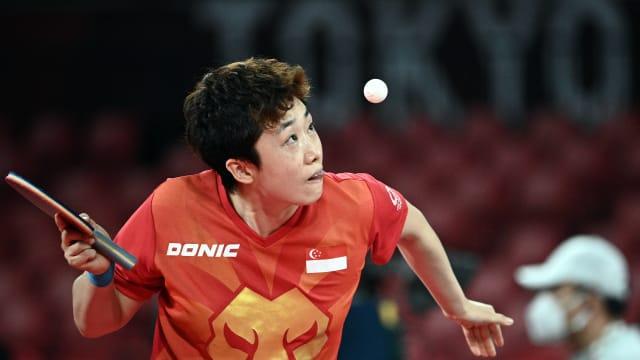 冯天薇轻取西班牙对手  晋级乒乓女单16强