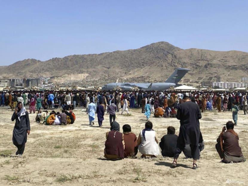 US 'unwavering' in Afghanistan evacuations, Biden says; Taliban beat back crowd at airport