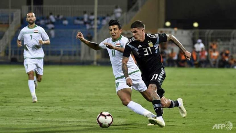 Football: Argentina shrug off Messi's absence to beat Iraq