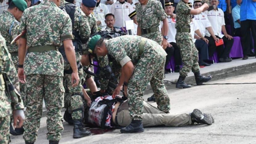 Malaysian commando shot dead in live-firing demo; police investigating