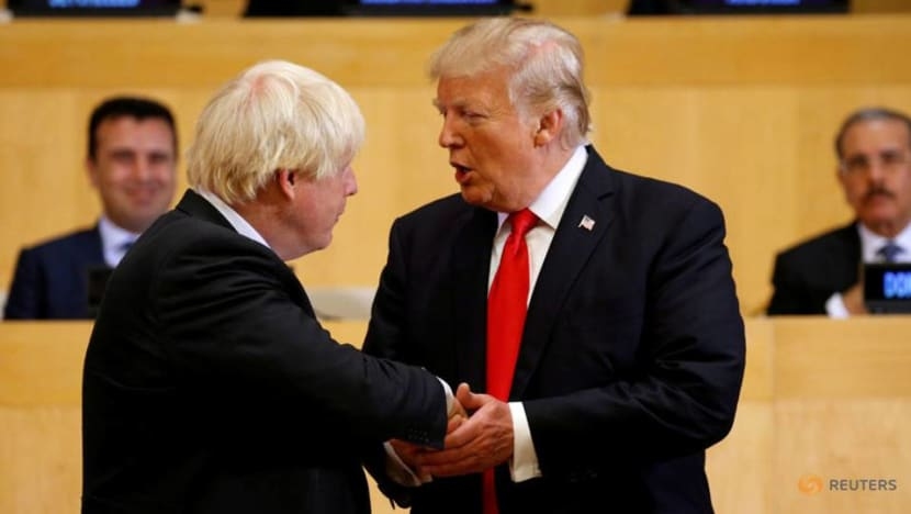Trump leads world reactions to Britain's incoming prime minister Boris Johnson