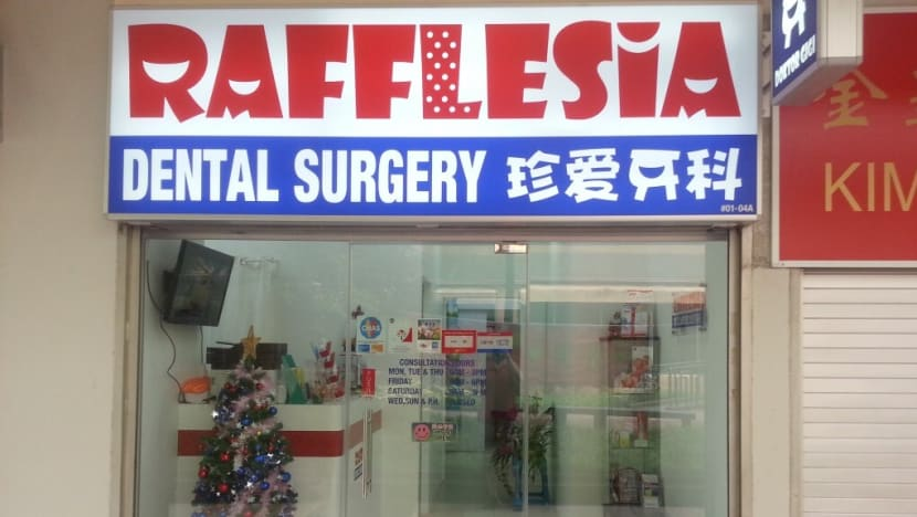 Rafflesia Dental Surgery to be terminated from CHAS for 'severe' non-compliances