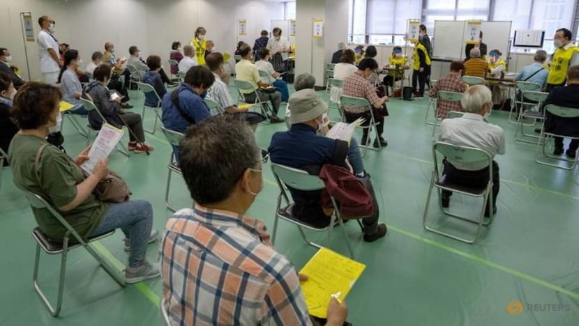Japan opens mass COVID-19 vaccination sites for elderly ahead of Olympics