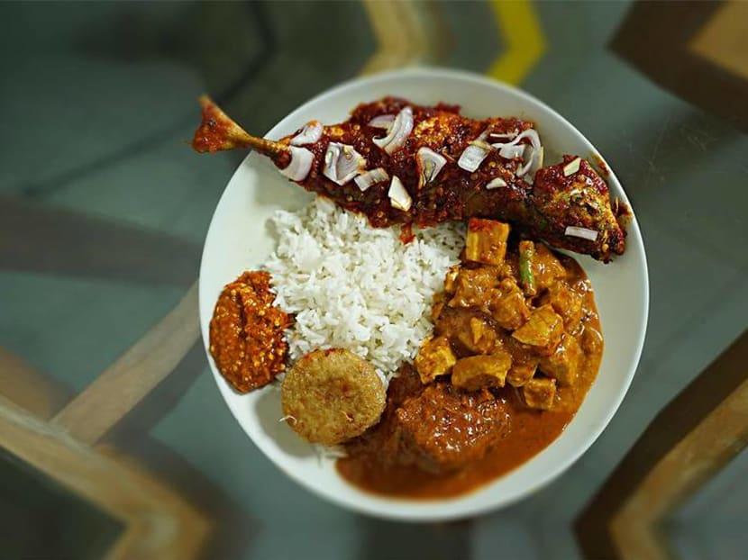 Best eats: Nasi padang with the spiciest sambal belacan in Orchard Road