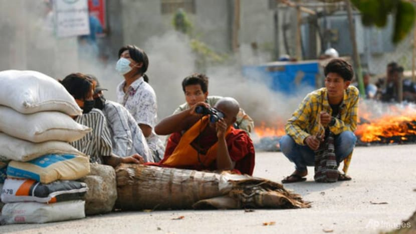 Myanmar activists hold candle-lit protests as EU, US try to pressure junta