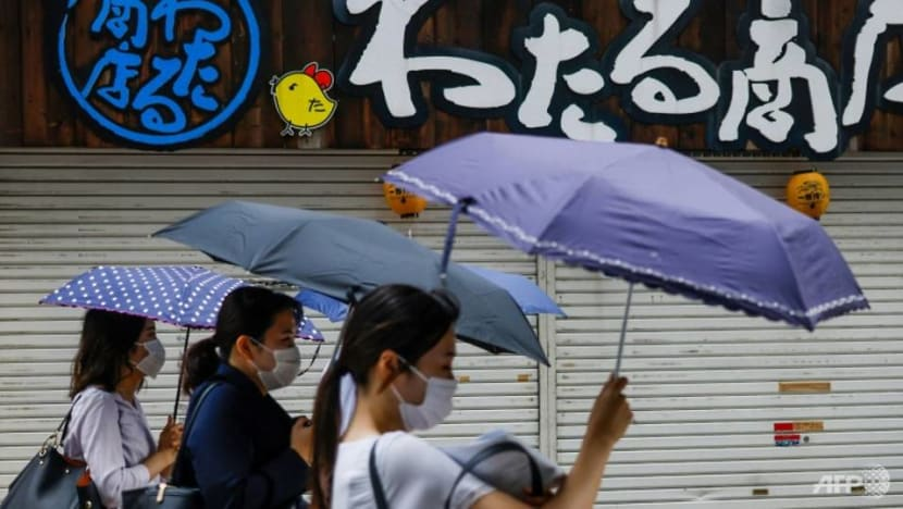 Tropical storm makes landfall in northern Japan