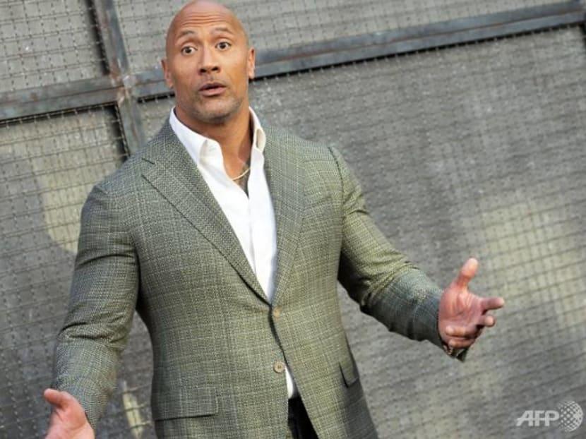 The Rock gets fan backlash for celebrating a tank named after him