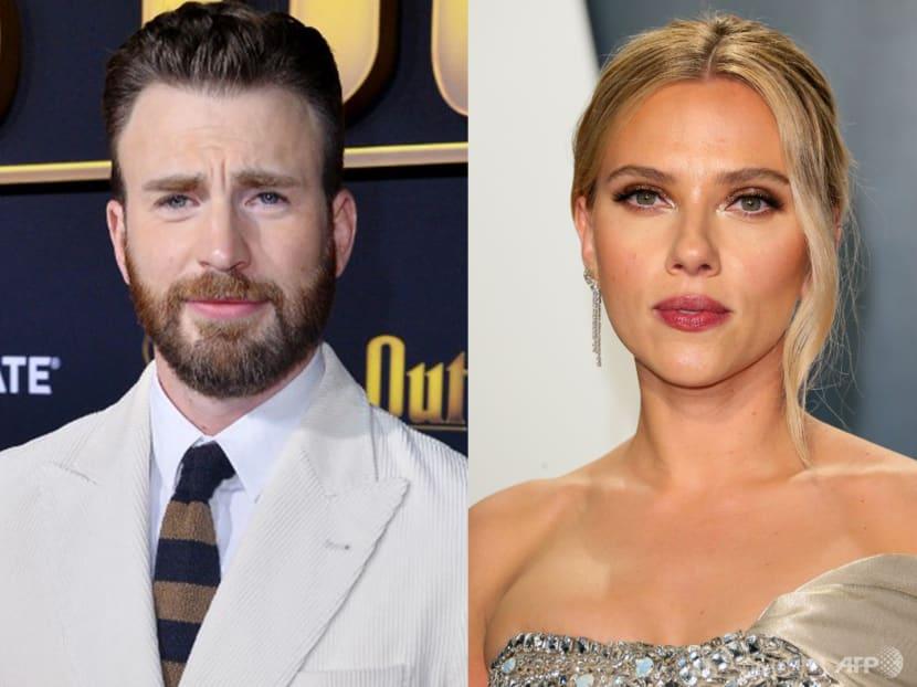Avengers stars Chris Evans and Scarlett Johansson reunite for romantic action movie