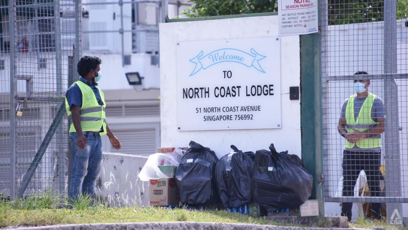 Safety time-out for worksites of COVID-19 infected workers from North Coast Lodge dormitory: MOM